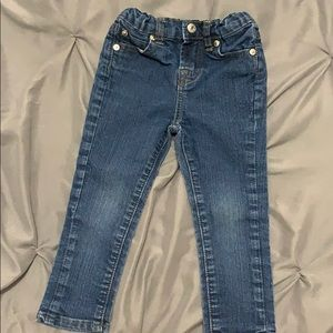 7 for all mankind toddler jeans 2t
